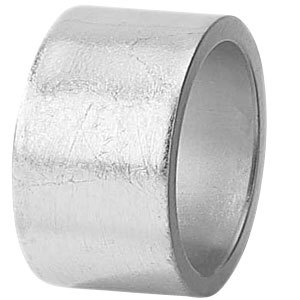 "Tabletop Classics AC-6512S Silver 1 3/4"" Round Acrylic Napkin Ring"