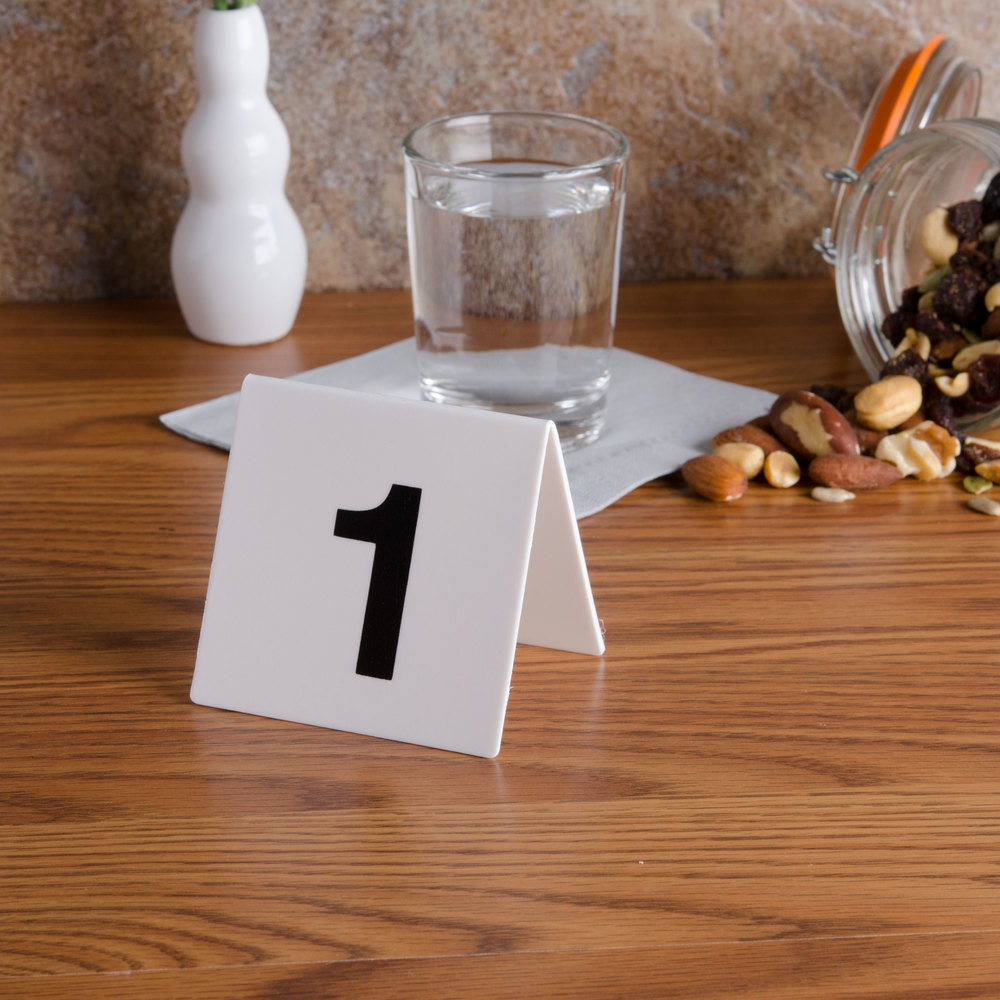 GET NUM-1-25 Numbers 1 Through 25 Table Tent Number
