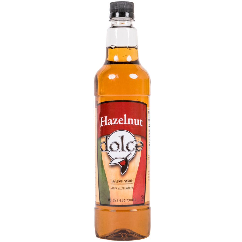 Dolce Hazelnut Coffee Flavoring Syrup