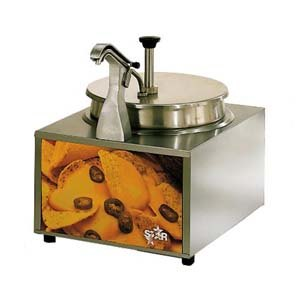 Cheese Warmer with Heated Spout