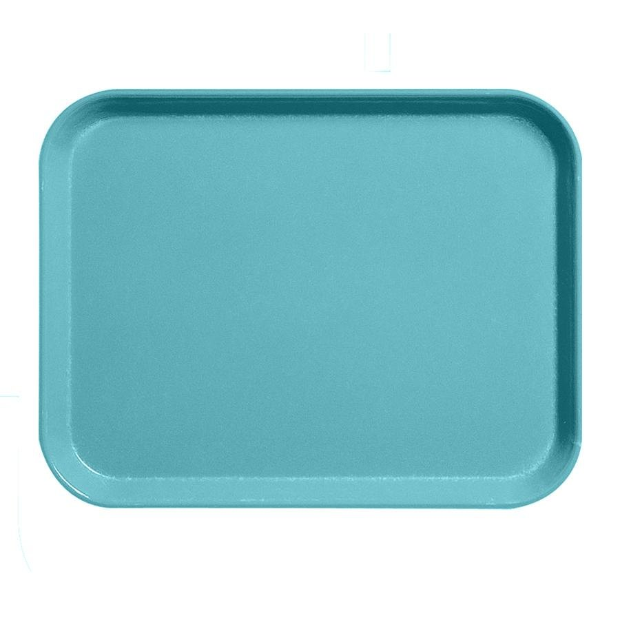 "Cambro 1520CL162 15"" x 20"" Green Camlite Tray - 12/Case"