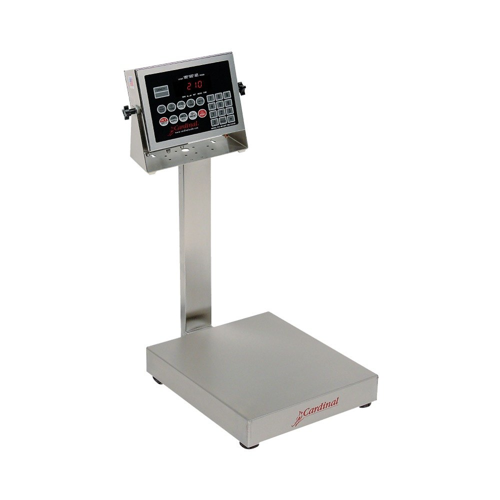 Cardinal Detecto EB-30-210 30 lb. Electronic Bench Scale with 210 Indicator, Legal for Trade