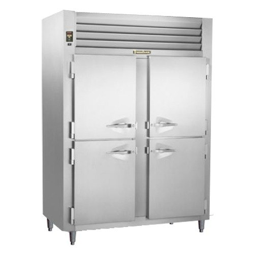 Traulsen RHT232NUT-HHS Stainless Steel 46 Cu. Ft. Two Section Half Door Narrow Reach In Refrigerator - Specification Line