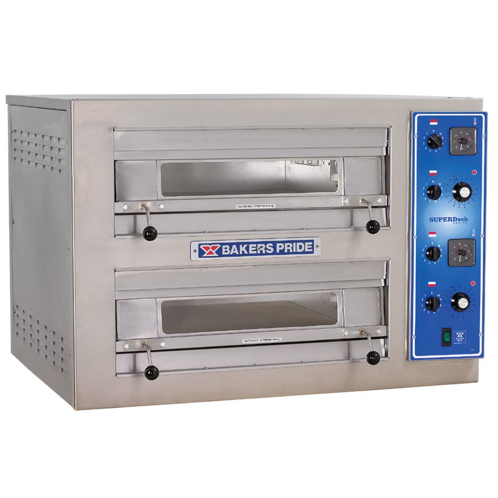 Electric Pizza Oven ~ Bakers pride ep double deck countertop electric
