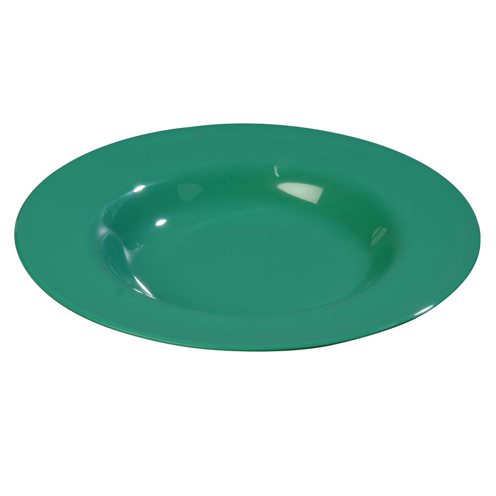 "Carlisle 3303009 Sierrus 12"" Meadow Green Chef Salad / Pasta Bowl - 12/Case"