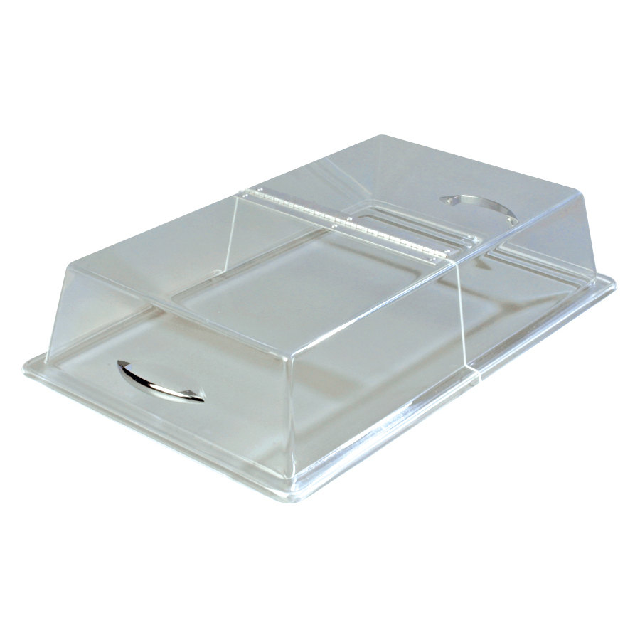 "Carlisle SC2907 12"" x 20"" x 4"" Rectangular Hinged Pastry Tray Cover"