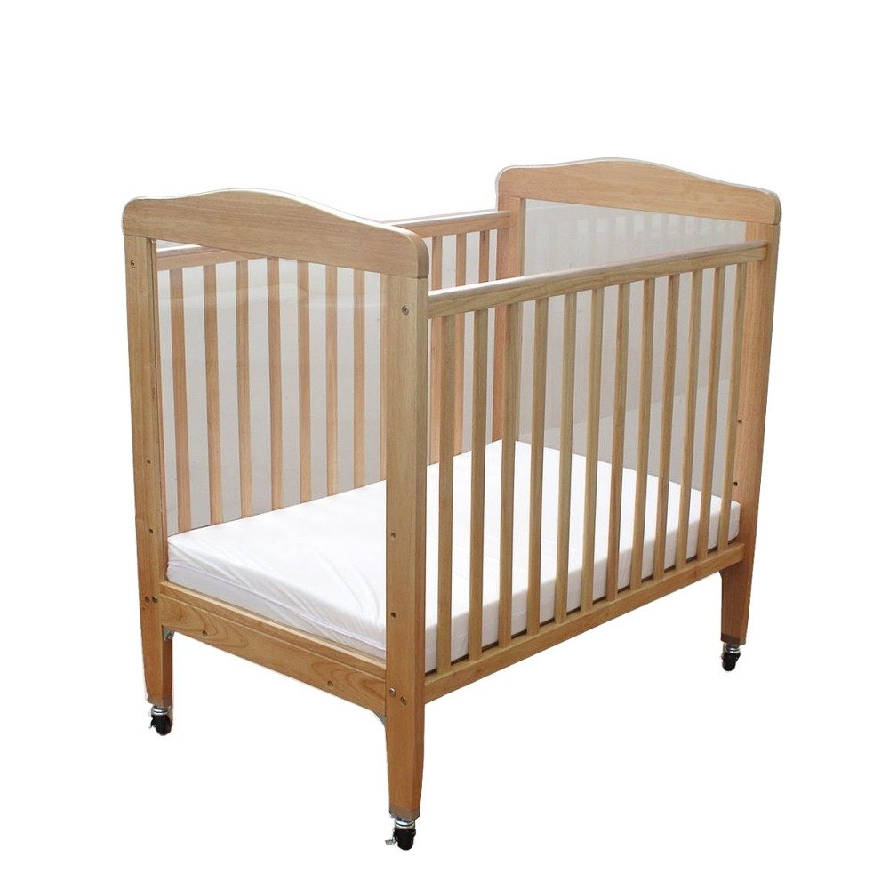 Evacuation crib for sale - Quick Look L A Baby Wc 510a N 24 Inch X 38 Inch Compact Wooden Window Crib