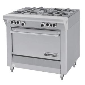 "Garland / US Range Natural Gas Garland M44S Master Series 4 Burner 34"" Gas Range with Storage Base at Sears.com"