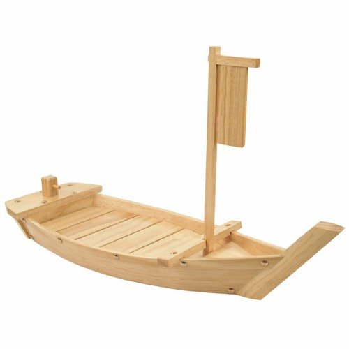 24 Quot Wood Boat Serving Display