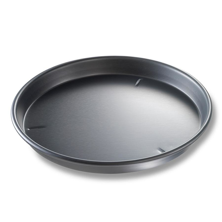 "Chicago Metallic 91140 14"" x 1 1/2"" Deep Dish Hard Coat Anodized Aluminum Pizza Pan at Sears.com"