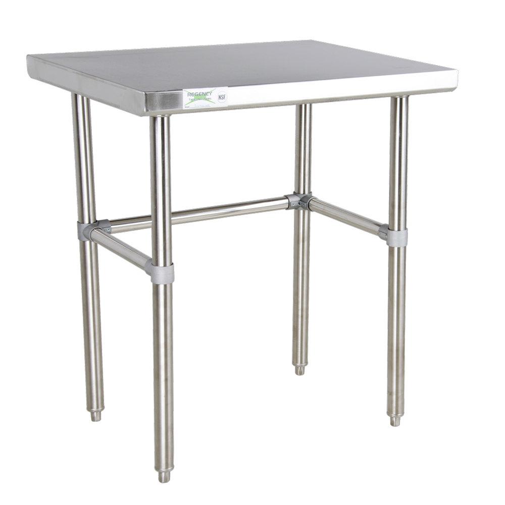 Steel Table : ... 16 Gauge 30