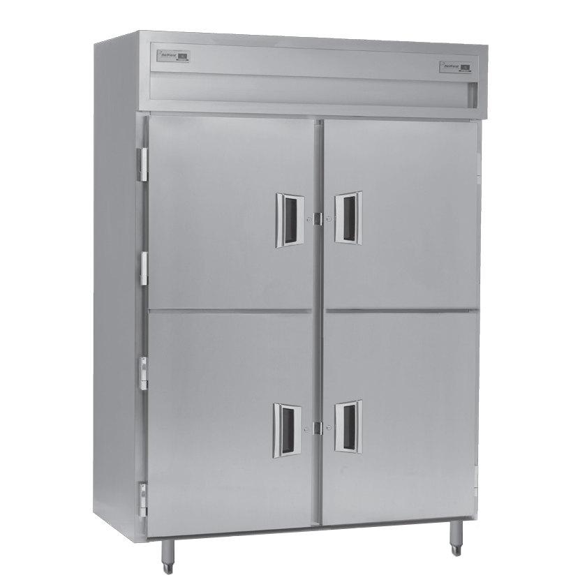 Delfield Sadfp2 Sh 49 92 Cu Ft Solid Half Door Dual
