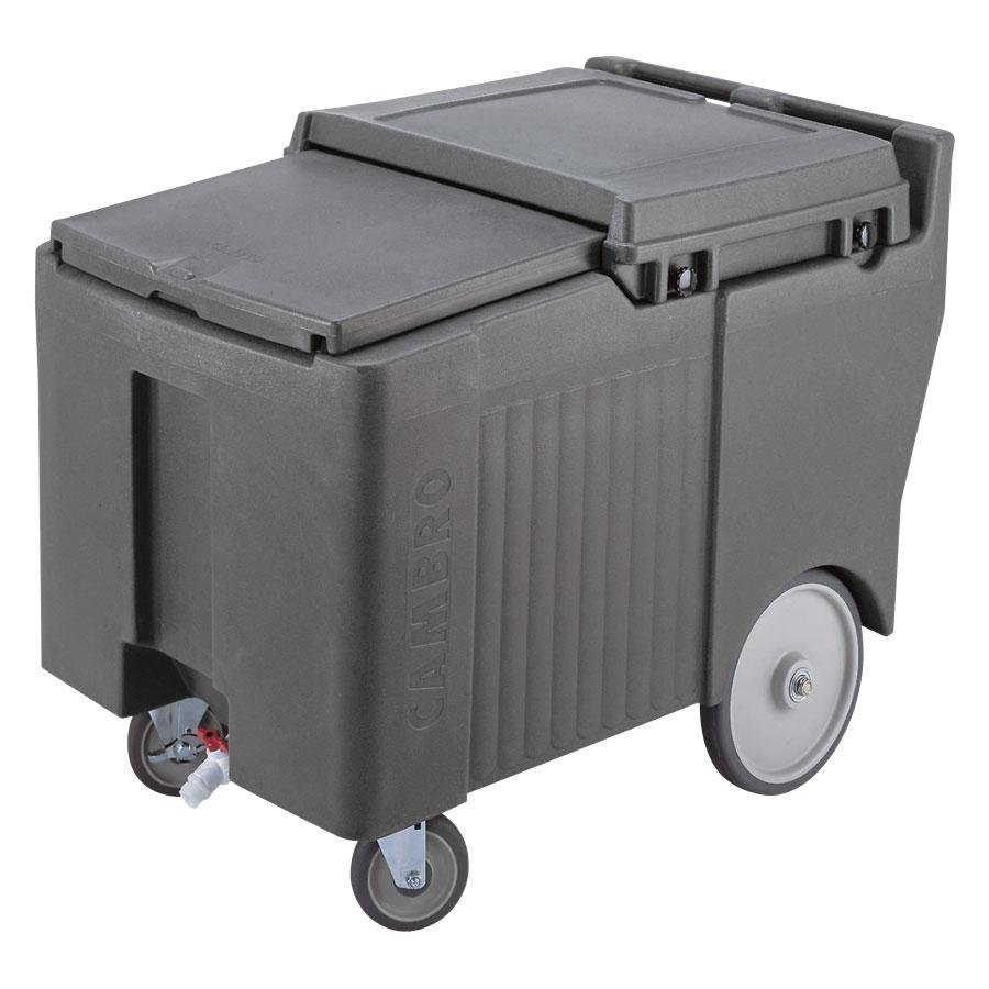 Cambro ICS175LB180 Light Gray Sliding Lid Portable Ice B