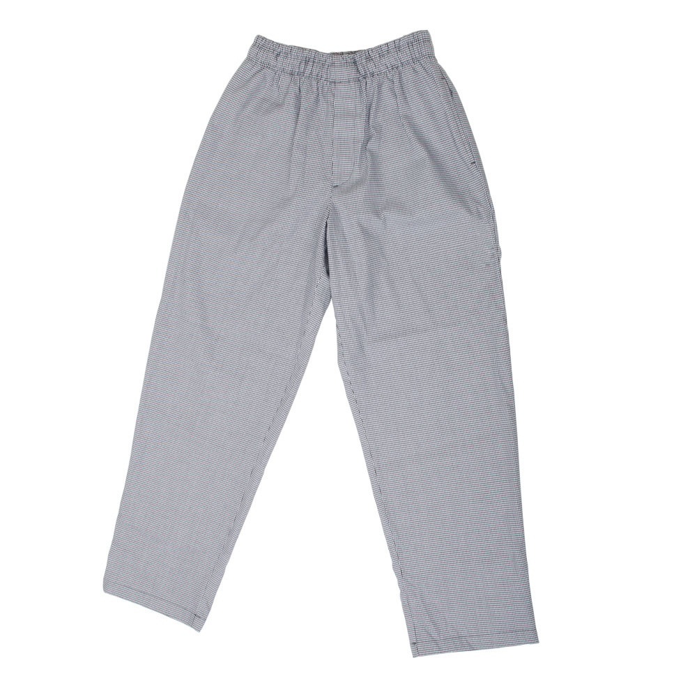 Chef Revival P020HT 7X Houndstooth Men's Baggy Cook Pants