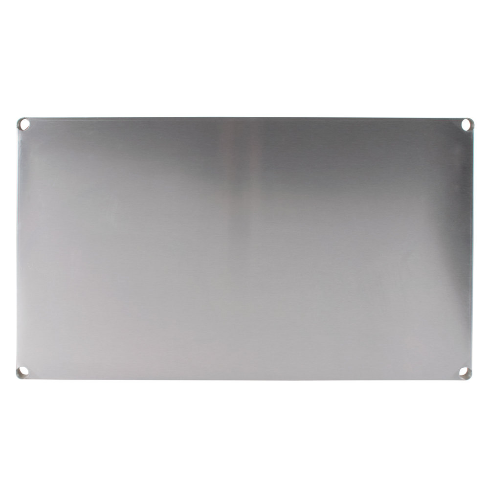 "Advance Tabco SH-2448 24"" x 48"" Solid Stainless Steel Shelf"