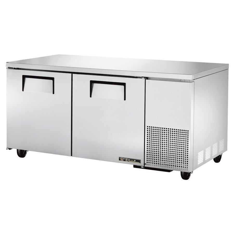 true tuc 67 67 deep undercounter refrigerator with two doors. Black Bedroom Furniture Sets. Home Design Ideas