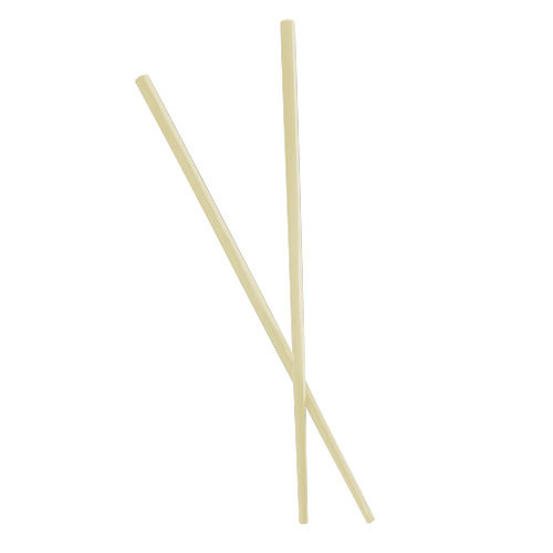 Town 51316 Ivory Plastic Chopsticks, Pair - 10/Pack