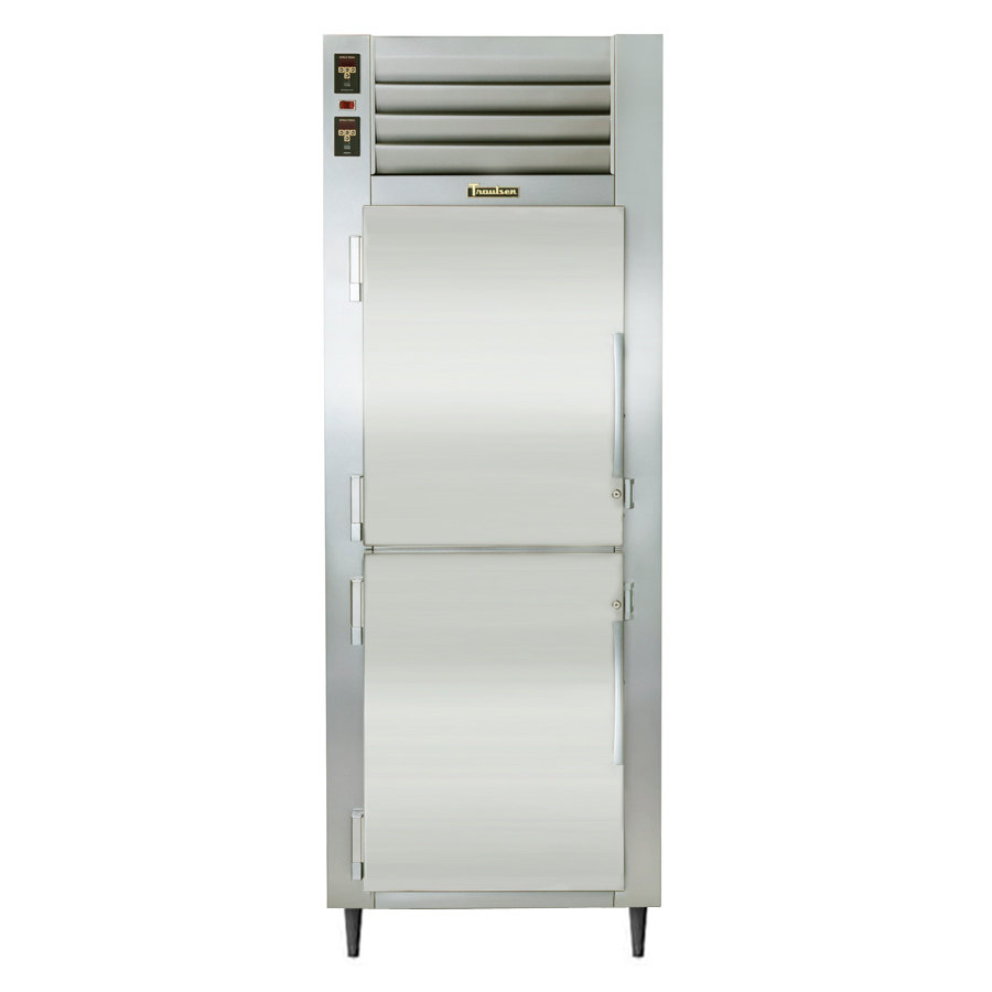Traulsen RDT132WUT-HHS Stainless Steel 21.6 Cu. Ft. Single Section Reach In Refrigerator / Freezer - Specification Line