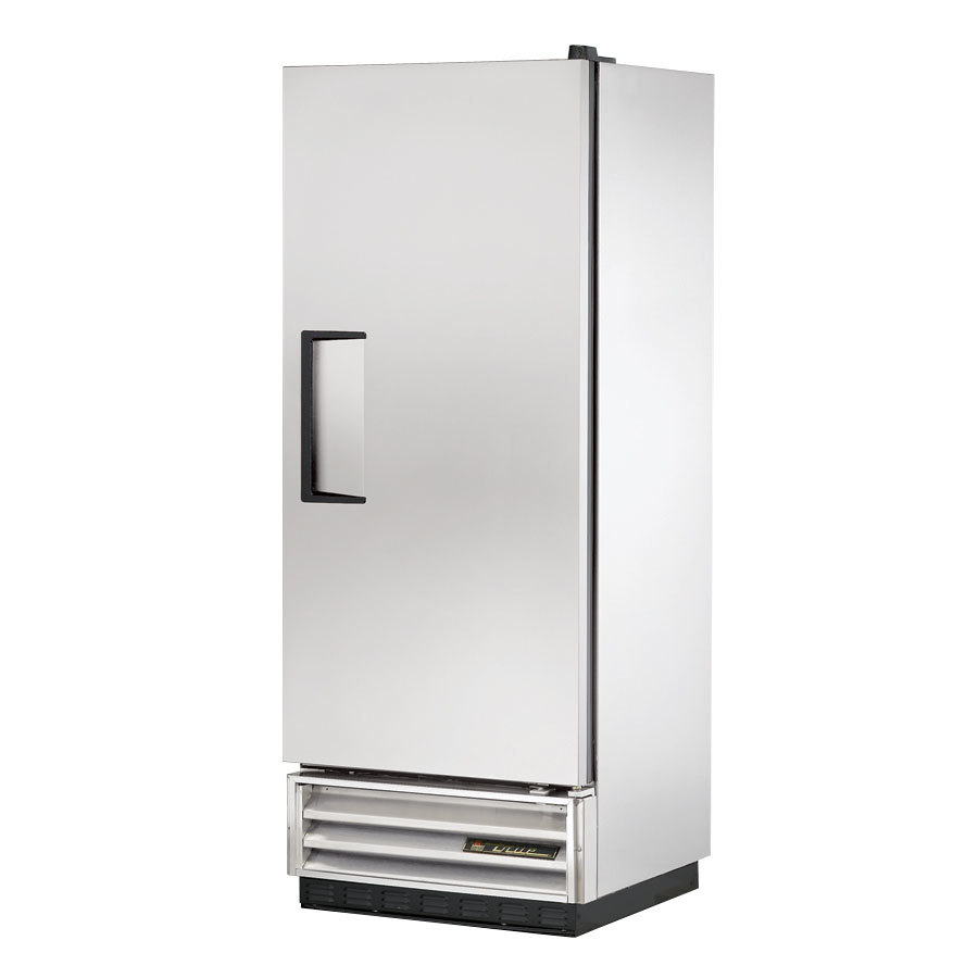 True T-12 25 inch Single Solid Door Reach In Refrigerator