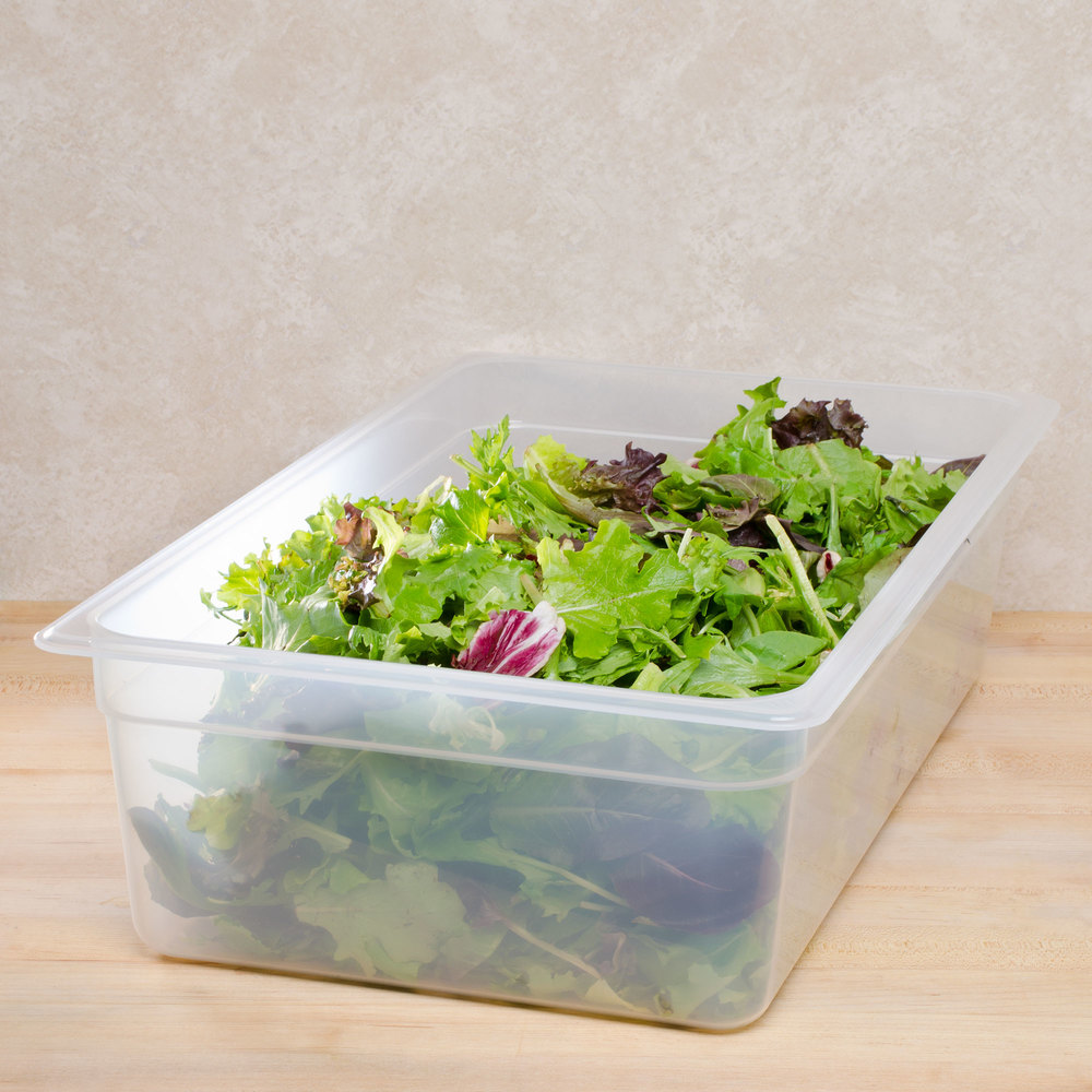 "Cambro 16PP Full Size Translucent Food Pan - 6"" Deep"