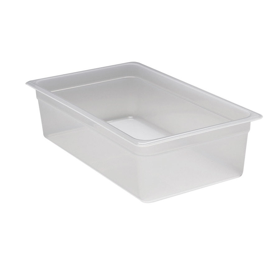 Cambro 16PP Full Size 6 inch Deep Translucent Food Pan - 20.6 qt.