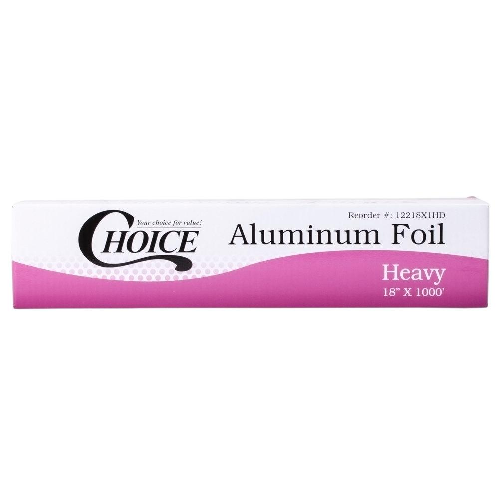 Choice 18 Quot X 1000 Food Service Heavy Duty Aluminum Foil Roll