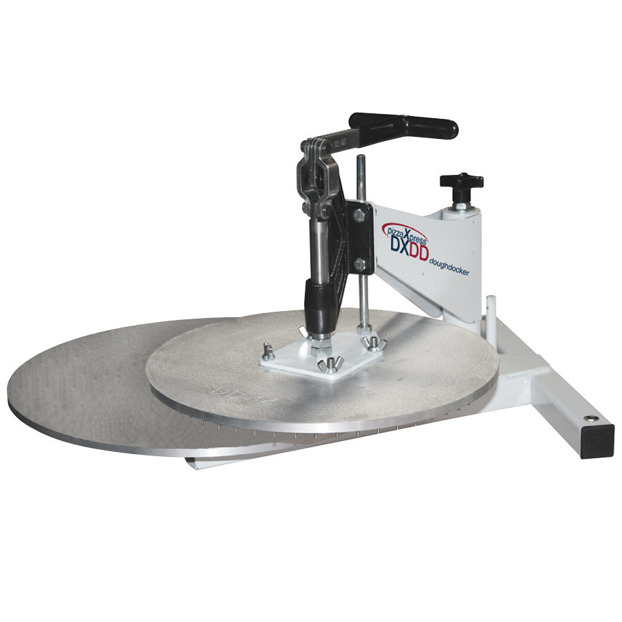 DoughXpress DXDD-14 Dough Docking Press with 14 inch Platen
