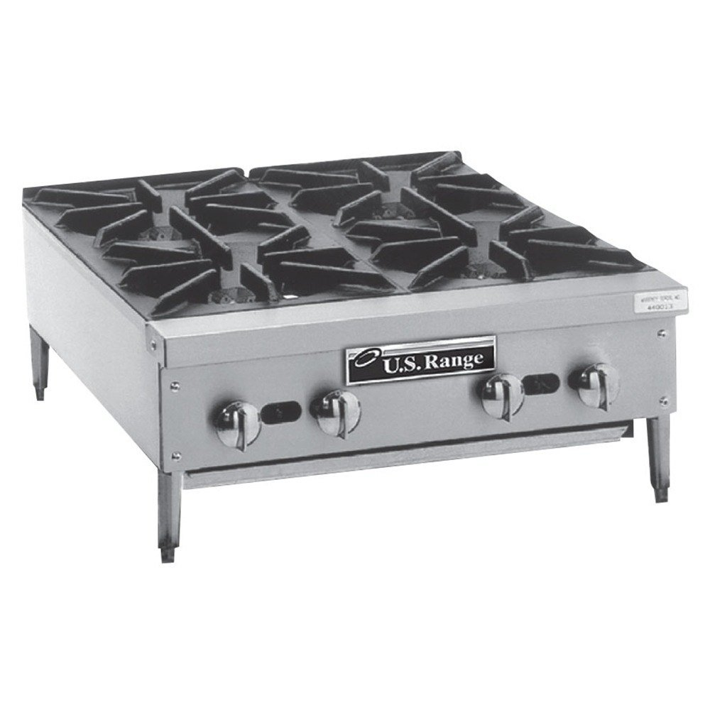 Countertop Gas Stove Price : Range Natural Gas Garland G36-4G12T 4 Burner Modular Top 36