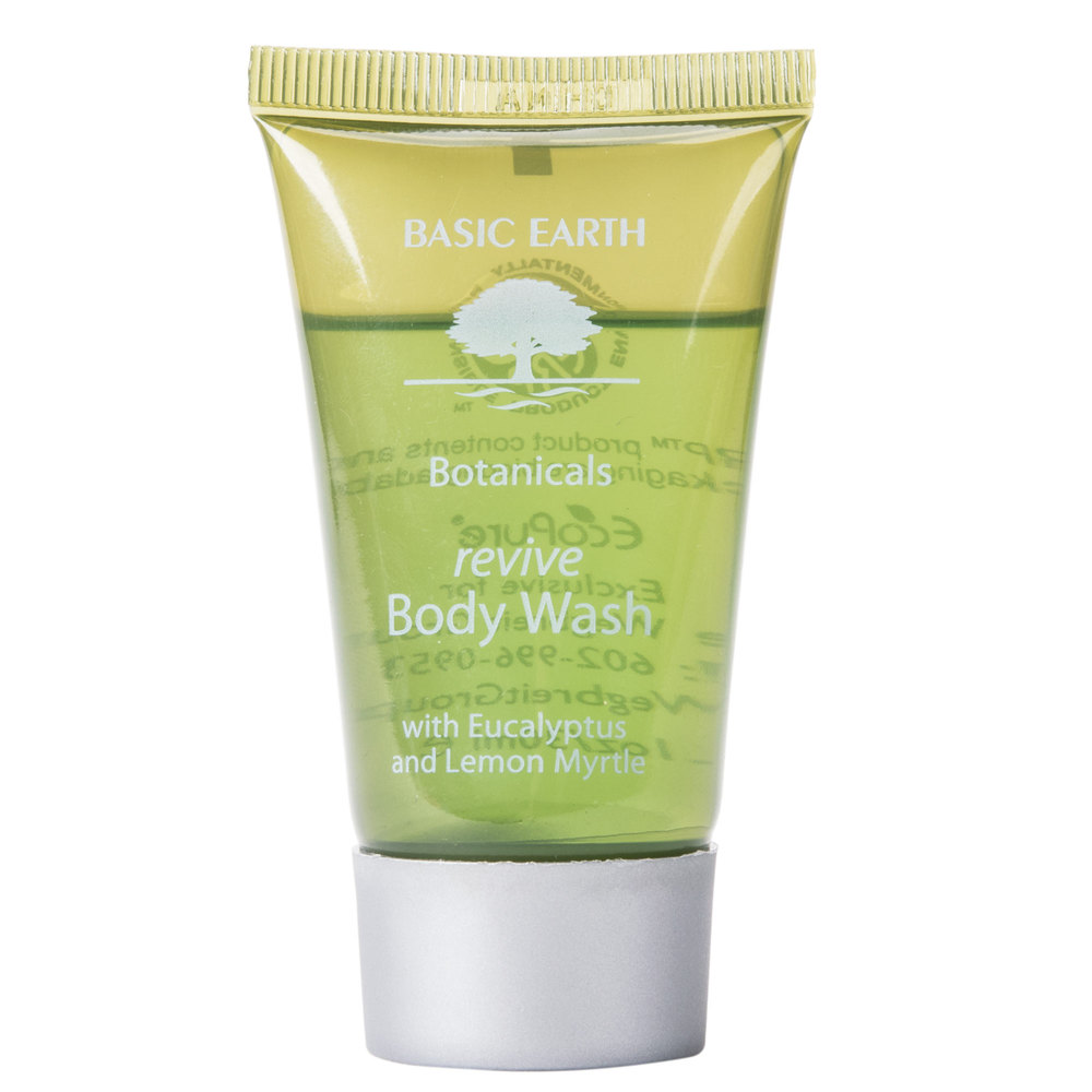 Basic earth botanicals hotel and motel body wash 1 oz for Motel one shampoo