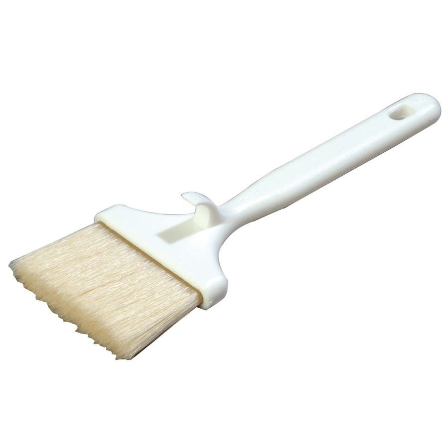 Carlisle 40379 3 inch Boar Bristle Pastry Brush with Hook