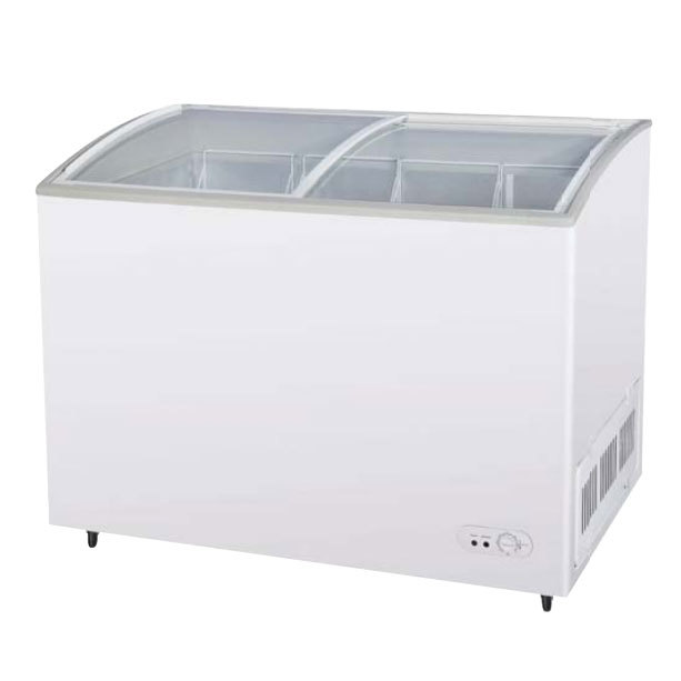 "Turbo Air Refrigeration Turbo Air TSD-47CF 47"" Curved Lid Ice Cream Freezer - 10.5 Cu. Ft. at Sears.com"