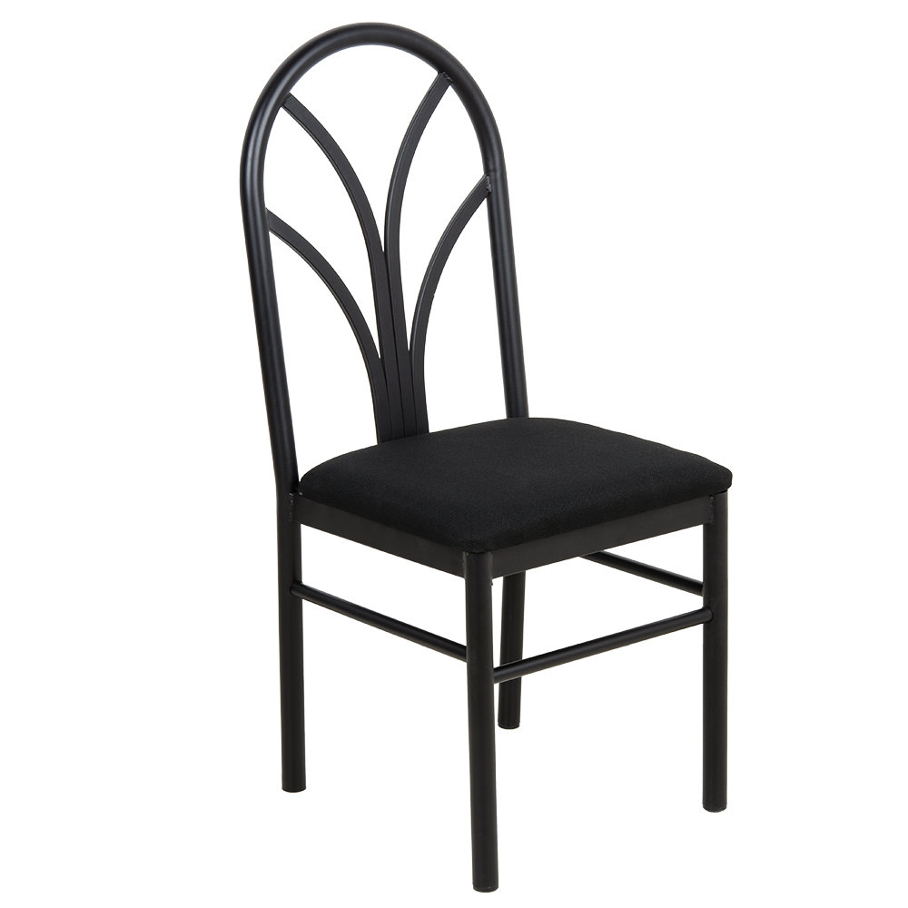 Black Dining Room Chair: Lancaster Table & Seating Black 4 Spoke Restaurant Dining