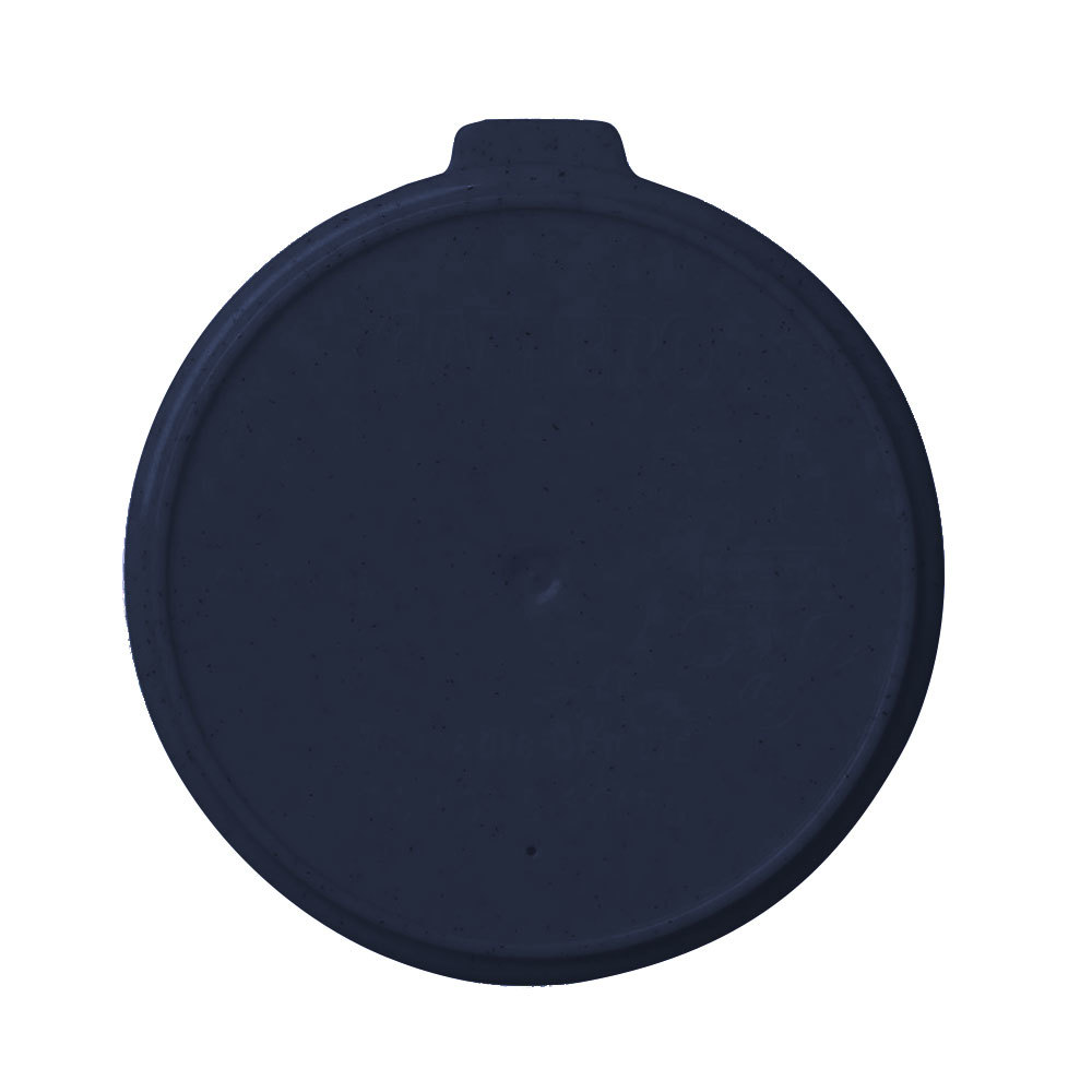 Cambro CLRSB16453 Midnight Blue Reusable CamLid for Shoreline MDSB16 16 oz. Bowls - 240 / Case
