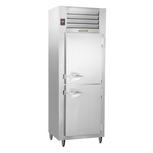 Traulsen RLT126WUT-HHS Stainless Steel 19.1 Cu. Ft. One-Section Solid Half Door Reach-In Freezer - Specification Line