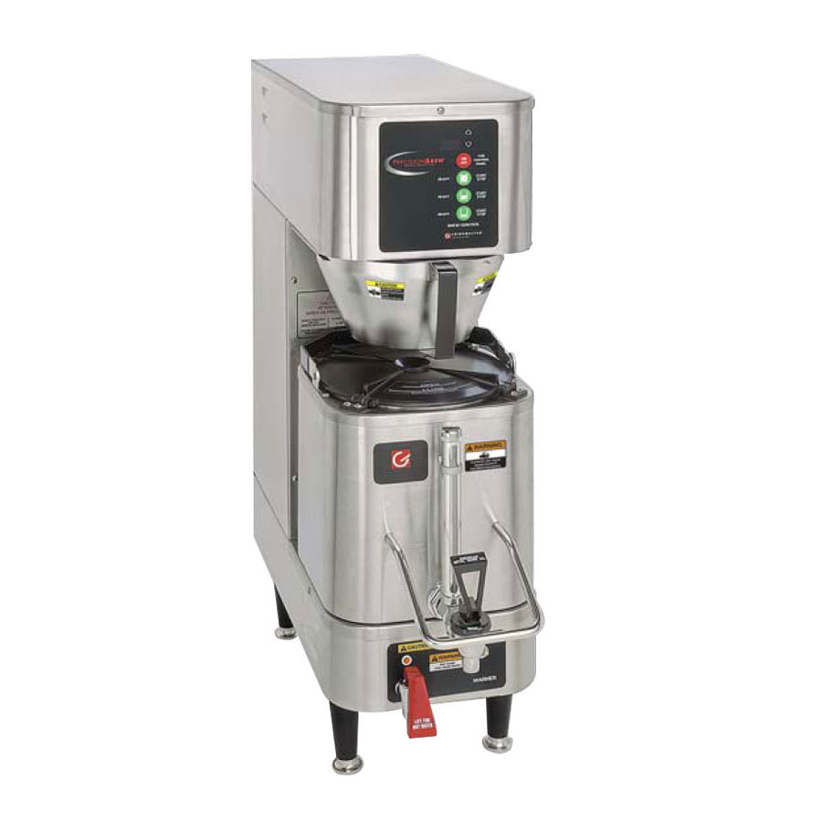Grindmaster Cecilware 120/208V Grindmaster PB-330 1.5 Gallon Single Shuttle Coffee Brewer at Sears.com