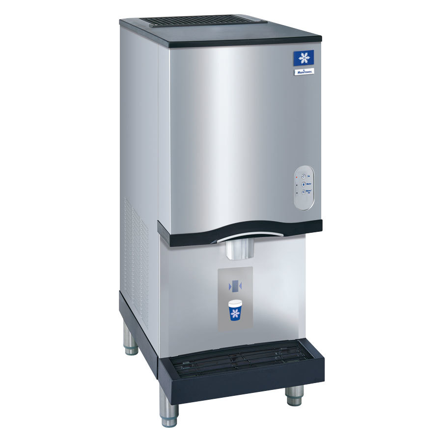 Manitowoc SN12A Countertop Ice Machine / Dispenser - 12 lb. Bin with Lever Dispensing