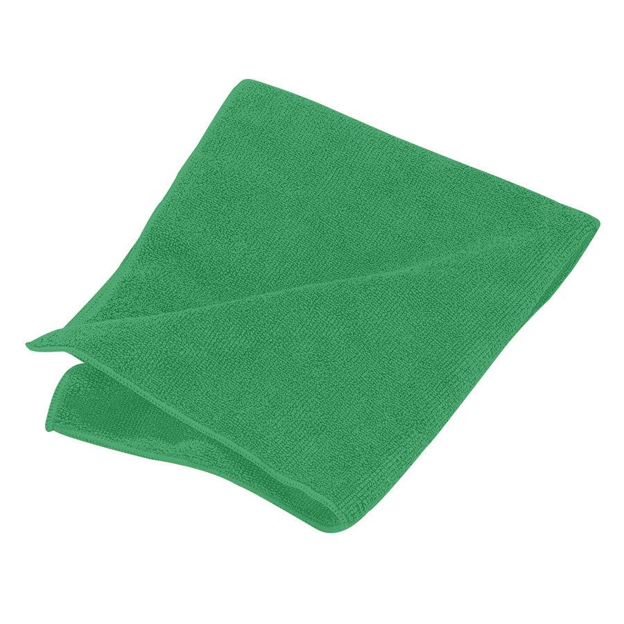 "Green Microfiber Towel: Carlisle 3633409 16"" X 16"" Green Terry Microfiber Cleaning"