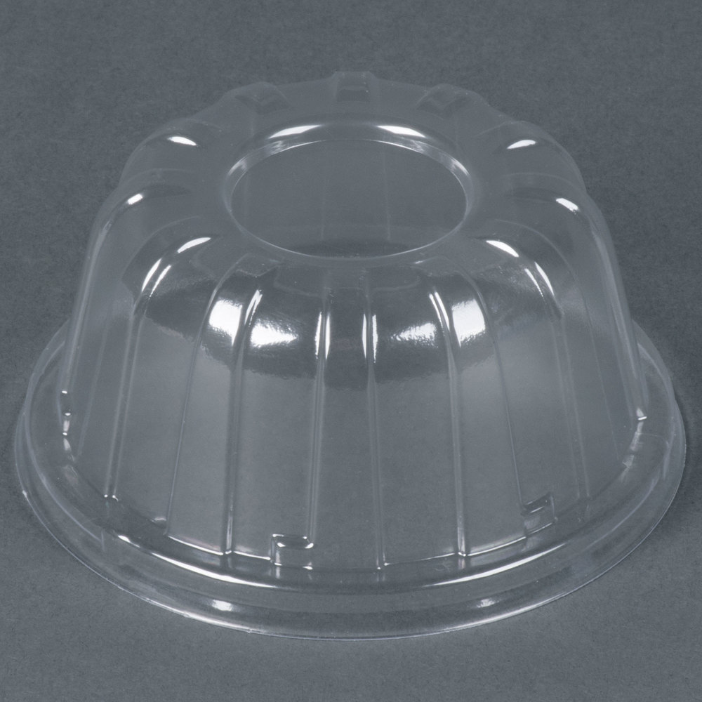 Dart Solo 20HDLC Clear High Dome Lid - 50 / Pack