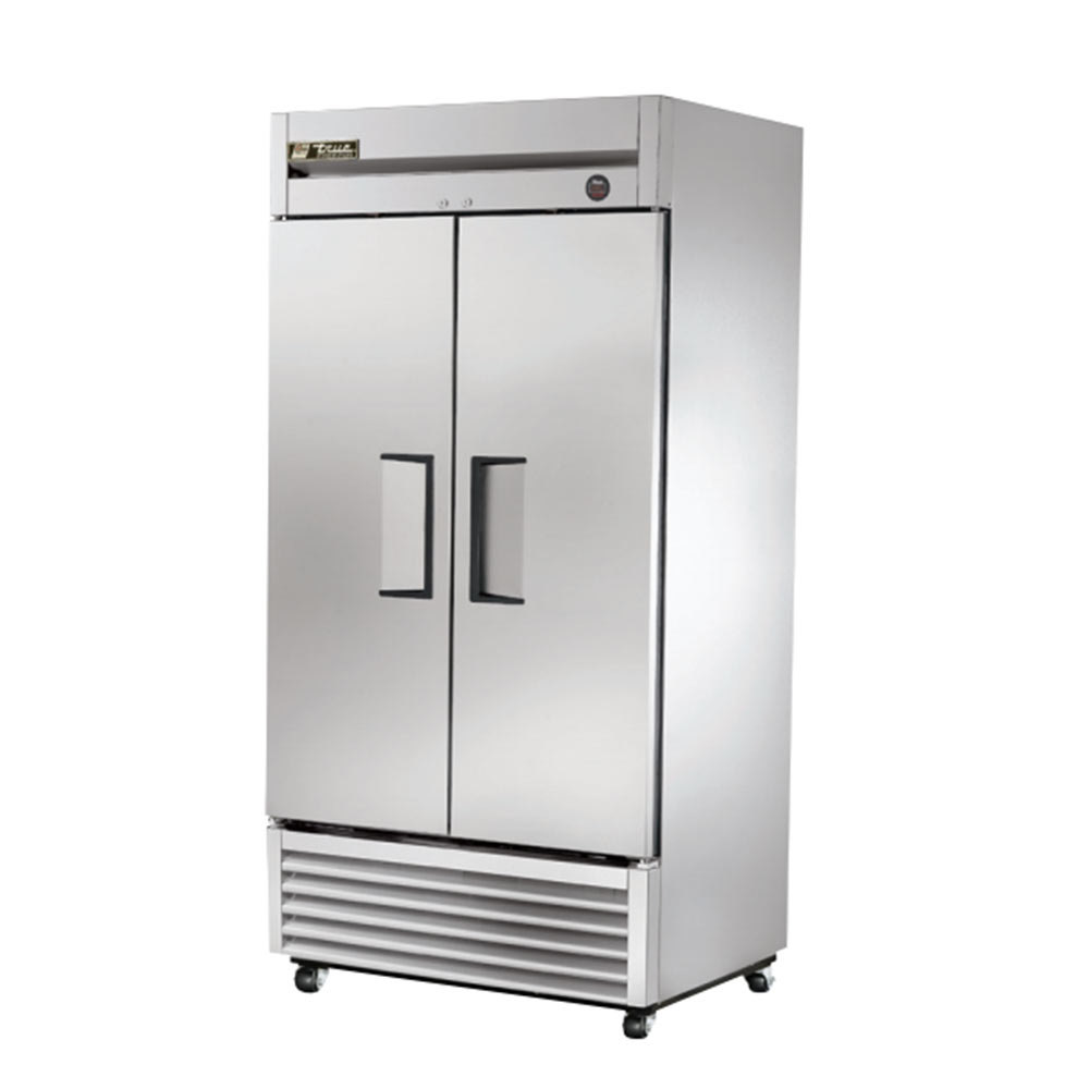 True T-35F 2 Door Bottom Mounted Reach-In Freezer