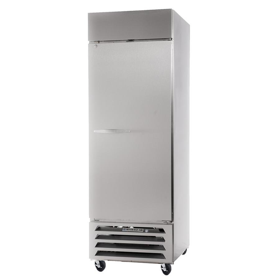 "Beverage Air HBR27-1-S 30"" Horizon Series One Section Solid Door Reach-In Refrigerator - 27 cu. ft."
