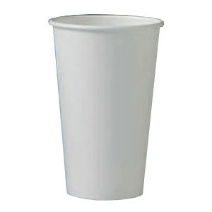 Solo 420W 20 oz. White Paper Hot Cup 600 / Case