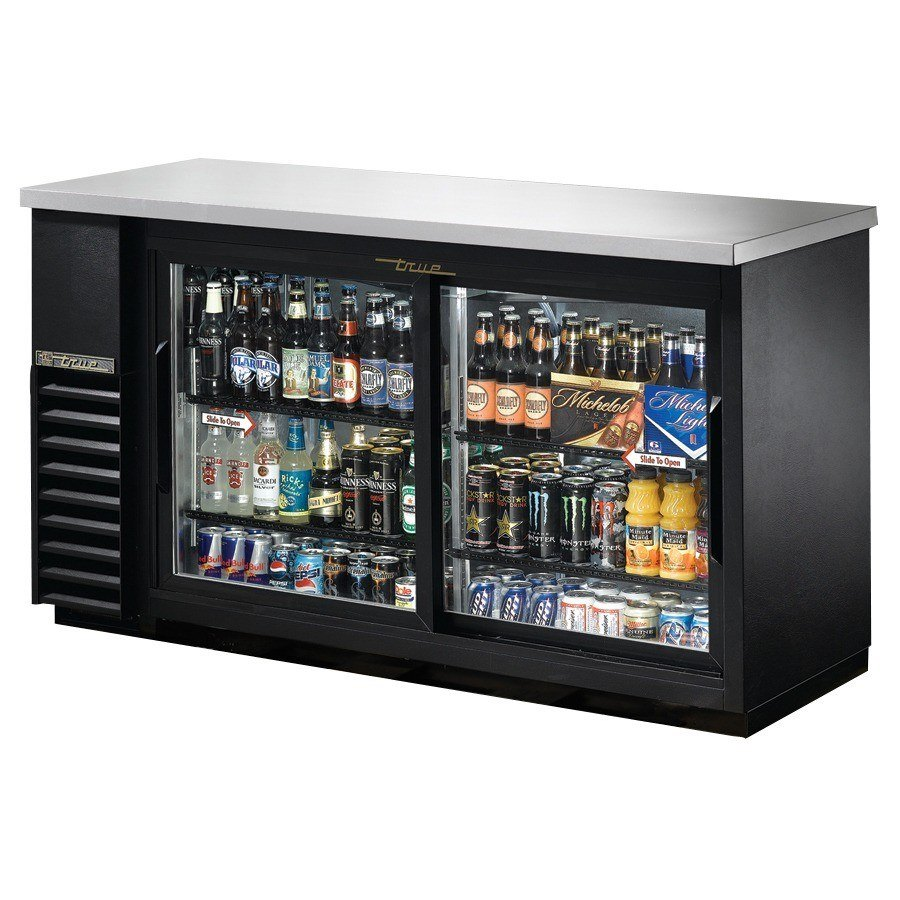 "True Refrigeration True TBB-24-60G-SD 61"" Back Bar Cooler with Sliding Glass Doors - 24"" Deep at Sears.com"