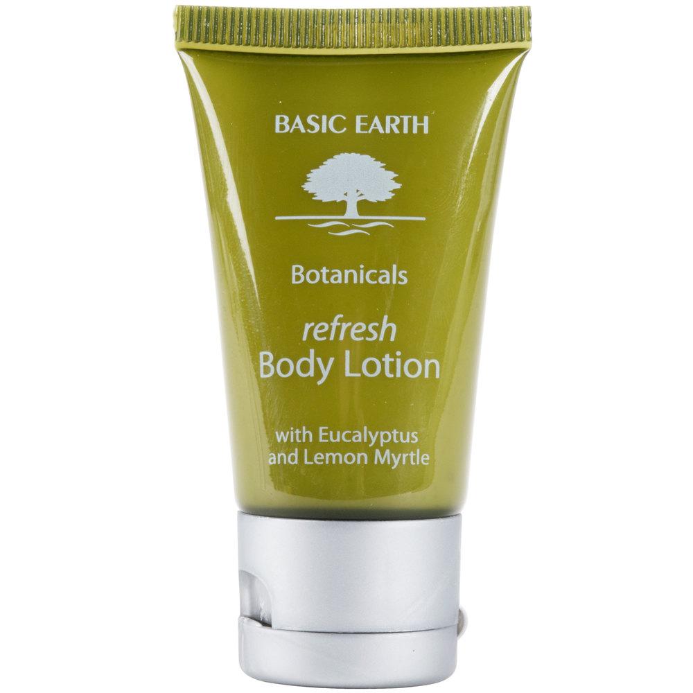 Basic Earth Botanicals Refreshing Body Lotion With Flip