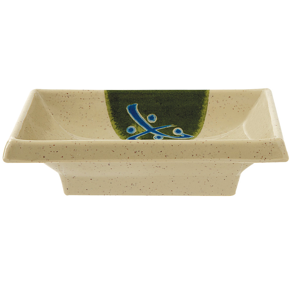"GET 025-TD Japanese Traditional 2 oz. Sauce Dish 4"" x 2"" - 24/Case"