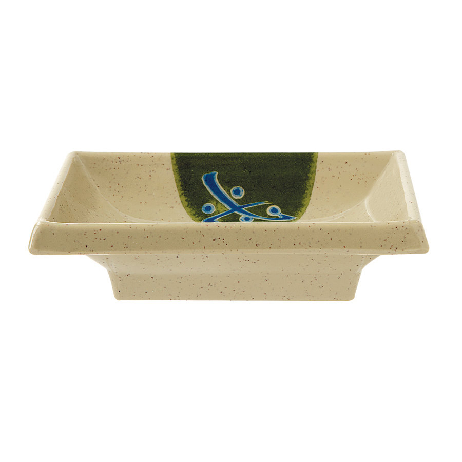 GET 025-TD Japanese Traditional 2 oz. Sauce Dish 4 inch x 2 inch 24 / Case