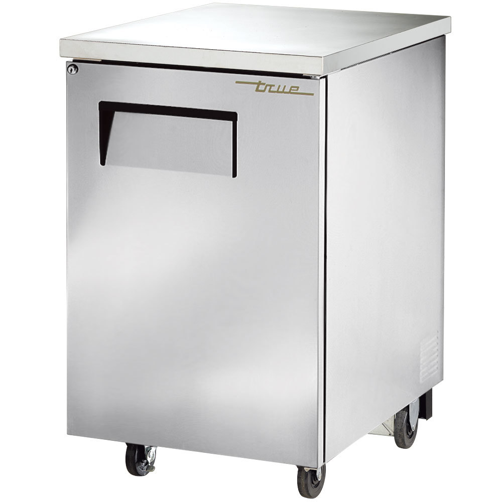 "True TBB-1-S 24"" Stainless Steel Back Bar Refrigerator"