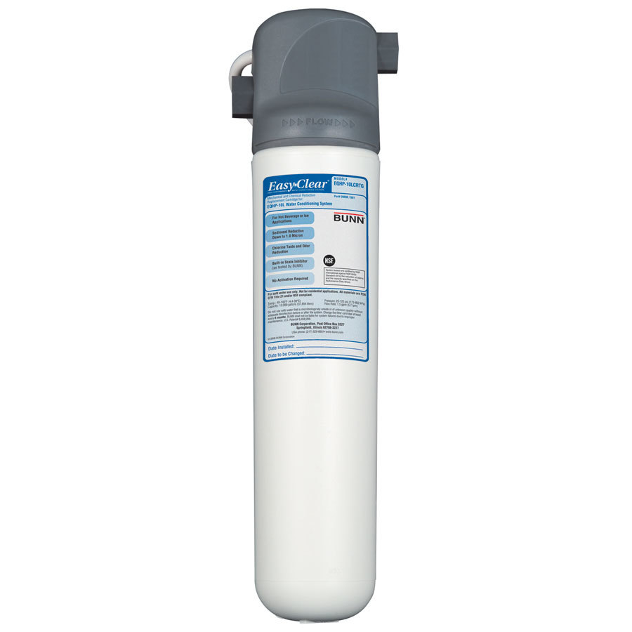 Bunn EQHP-10L Easy Clear Water Filter with Lime Scale Inhibitor - 1.5 gpm (Bunn 39000.0001)