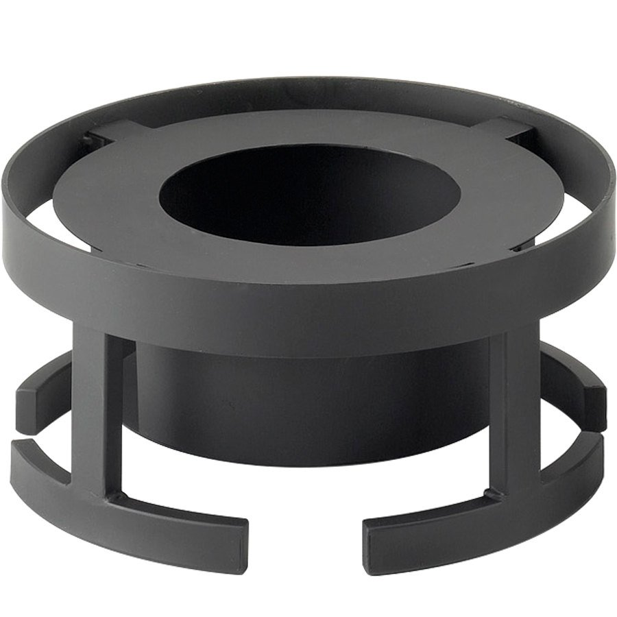 "Cal-Mil 1344-7-13 Stackable 12 3/4"" x 7 1/4"" Black Chafer Alternative"