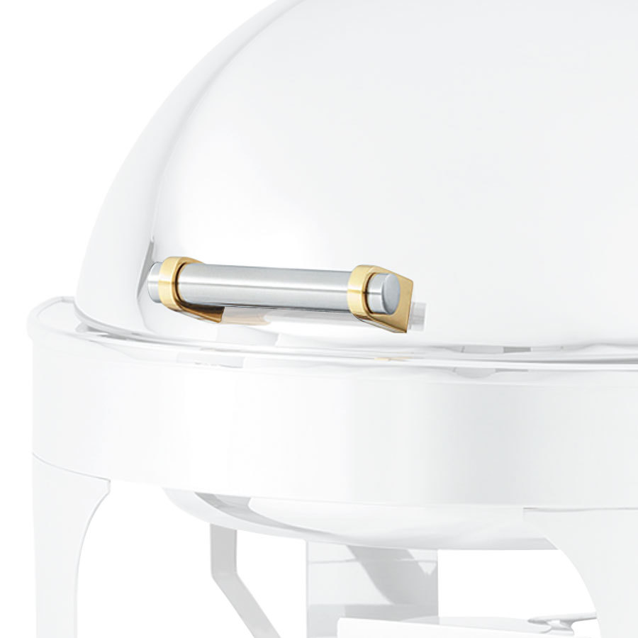 Vollrath 46276-1 Replacement Chafer Cover Handle for 46265 Vollrath Chafer