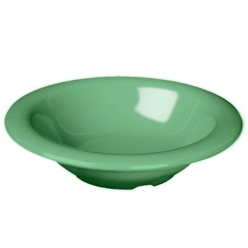 Green 8 oz. Melamine Salad Bowl - 12 / Pack